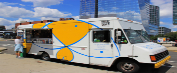 Mei Mei food truck in Boston