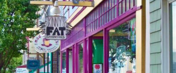 Stores in Oak's Bluff, Martha's Vineyard