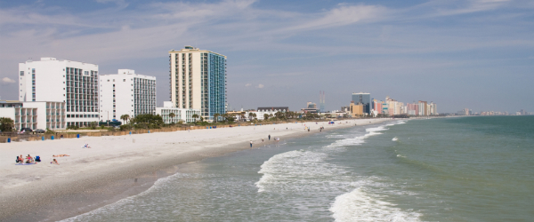 A view of Myrtle Beach